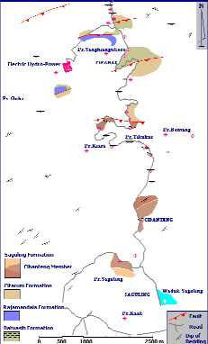 Outcrop Map